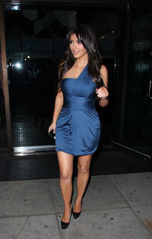 this is the most amazing blue dress.