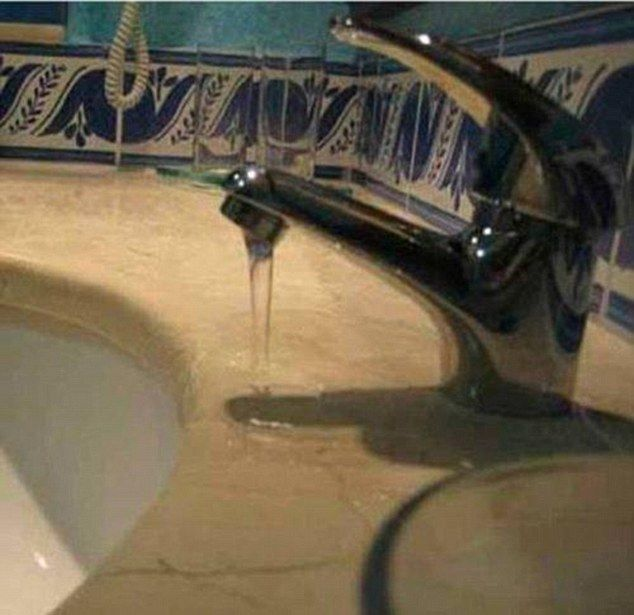 That's one way of cutting down on bathroom cleaning
