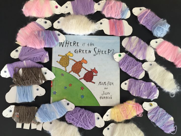 Book Week activity- Where is the Green Sheep?