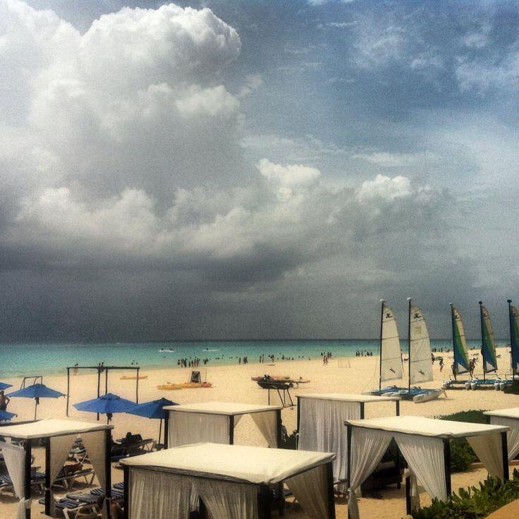 empezando un nuevo diá nublado en Playa del Carmen...   #ocean #sun #relax #holiday #vacanze #vacaciones #barbecue #parrillada #amigos #friends #playadelcarmen #rivieramaya #mexico #caribe #hostel #hostal