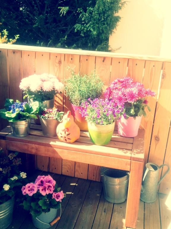 336 best balkon und garten images on pinterest, Gartengerate ideen
