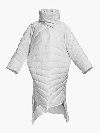Oversize white coat SEAL