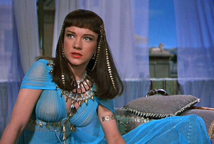 edith head costumi re les dix commandements 1956 anne baxter n fertiti anicent. Black Bedroom Furniture Sets. Home Design Ideas