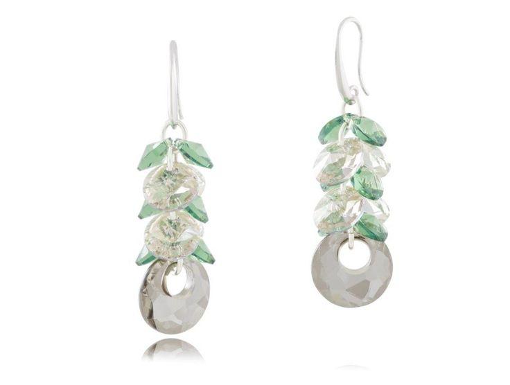 Kolczyki KIL0192 #bydziubeka #jewelry #swarovski