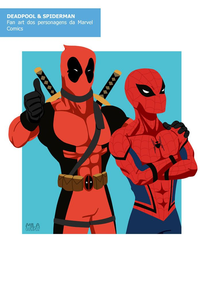 #deadpool #homemaranha