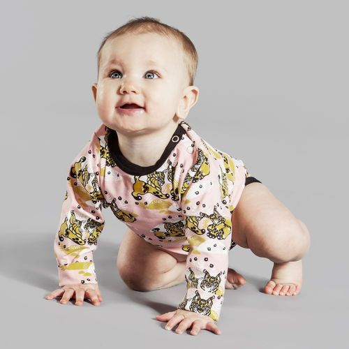 Powder pink ILVES Bodysuit