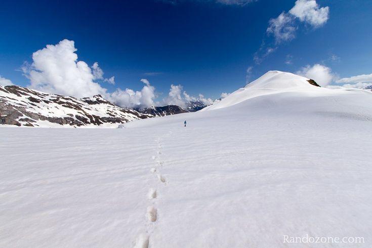 Pic de Tentes sous la neige. Pyrénées. France.