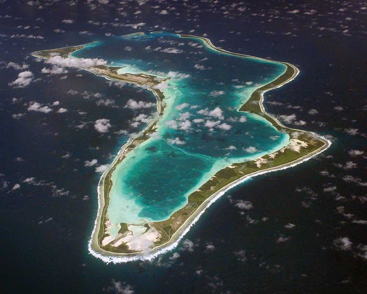 Aerial Photos of Diego Garcia  Spent a year here.
