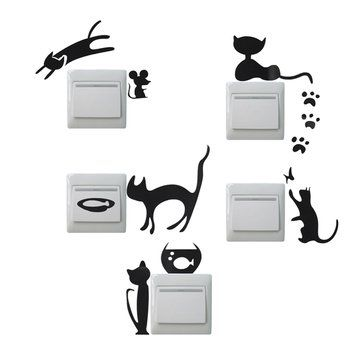 Creative Cat Switch Removable Wall Stickers Wallpaper PVC Vinyl Decal Home Decor //Price: $2.92 & FREE Shipping //     #wallstickerforbedroom #wallstickerforlivingroom #wallstickerforkids #wallstickerforkitchen #3Dwallsticker #removeablewallsticker #treewallsticker ##3wallstickers#3dbutterflywallstickers #3dmirrorwallstickers #3dwallsticker #3dwallstickermalaysia #3dwallstickers #3dwallstickersamazon #3dwallstickersaustralia #3dwallstickersbeach #3dwallstickersebay #3dwallstickerspakistan…