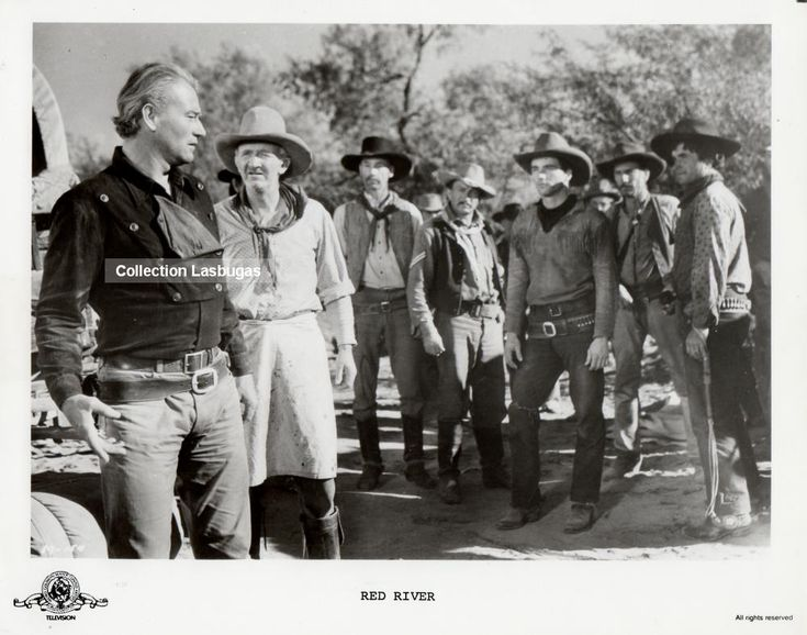 RED RIVER DIRECTED BY HOWARD HAWKS PRODUCED BY HOWARD HAWKS/ CHARLES K. FELDMAN MUSIC BY DIMITRI TIOMKIN MONTERY PRODUCTIONS UNITED ARTISTS a_way698.jpgPhoto with the courtesy of lasbugas INFORMATION FROM IMDb Plot Summary Tom Dunson builds a cattle…
