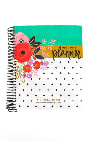 a simple plan homeschool planner 2018 2019 plan record books