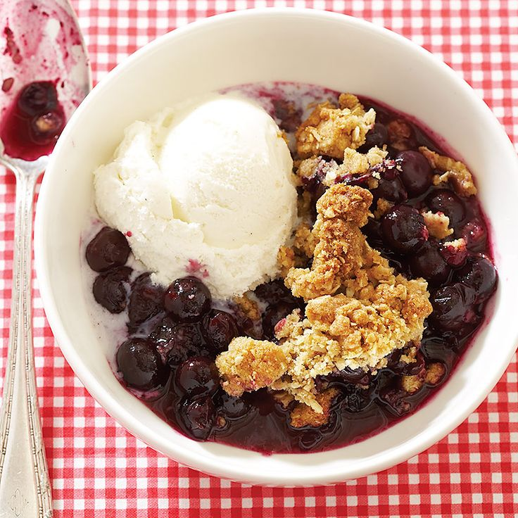 To let fresh summer blueberries take center stage, we keep the preparation-and the ingredient list-streamlined.