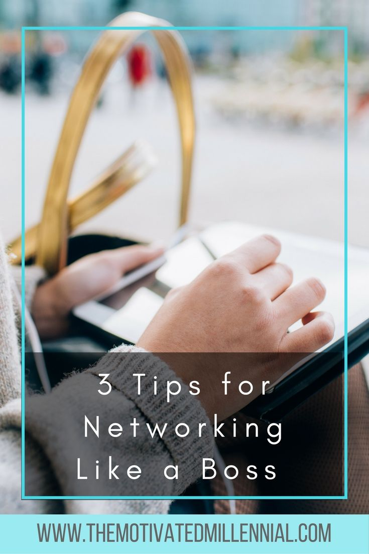 3 Tips for Networking Like a Boss - Learn how nearly being evicted launched my networking strategy (yes, you read that right) // The Motivated Millennial << #Entrepreneur