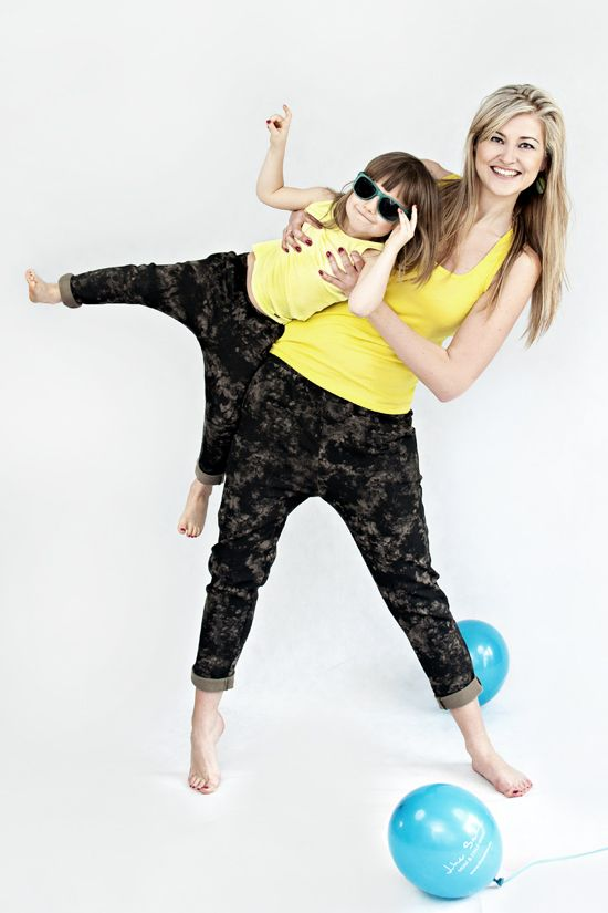 "Batik Pants - MOTHER AND DAUGHTER SET Set of 2 pairs of cotton, comfortable trousers in earthy tones and style harem. Used cotton batik gave them versatility and sporting elegance. Suitable for both styling ""relaxed"" and in duet with pins. #fashion #thesame #brownpants #poland #kidsfashion #womanfashion #momandchild #girlfashion #boyfashion #elegant #comfortable #stylishkids #stylishmother #stylishgirl"