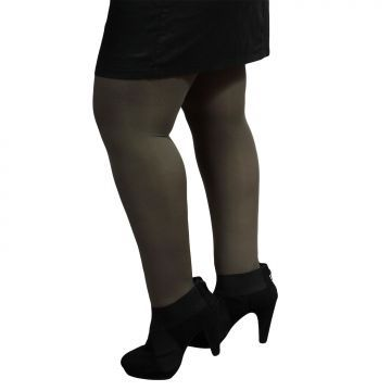 Collant kaki opaque 80 deniers Jusqu'au 4XL 8€