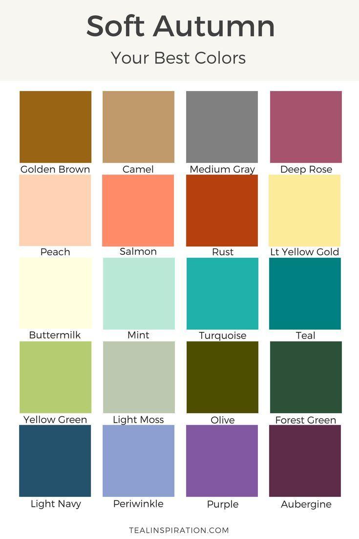 1574 Best Seasonal Color Analysis Images On Pinterest
