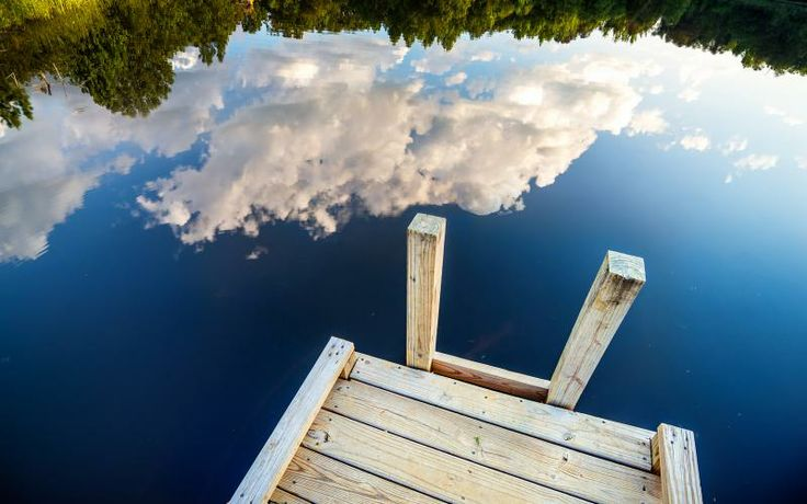 Free HD Wallpapers for your computer: Sky reflection in a lake