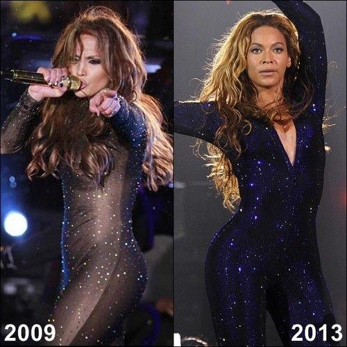 Jennifer Lopez 2009 vs Beyonce 2013