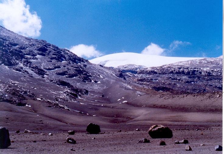 Nevado del Ruiz, Parque de los Nevados