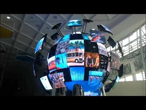 Sphere LED Display Screen / LED Ball Display / LED Globe Display