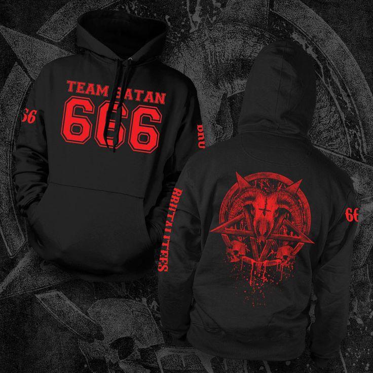Team Satan Hoodie