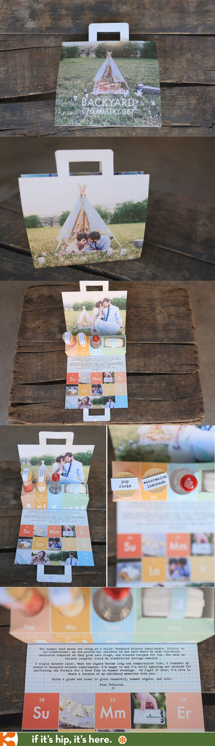 The Backyard Chemistry Kit was created by photographer Jasmine Star as a gift for her clients. A shout out to @Joanne Hunter Hines for bringing this to my attention.
