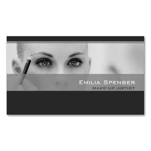 Make-up artist profile business card