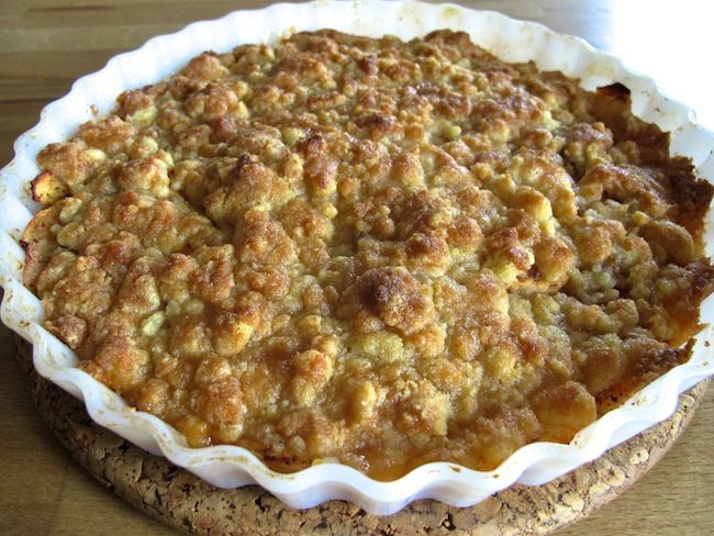 Knäckig äppelpaj | Recept från Matskafferiet