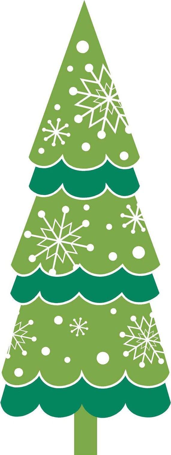 Christmas tree clip art choinka pinterest