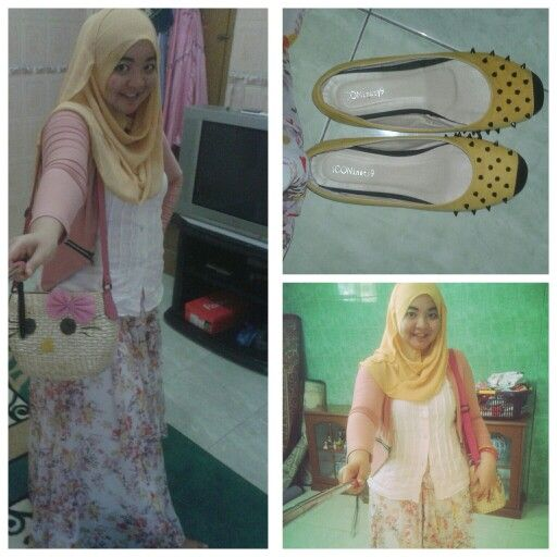 mix and match yellow and pink