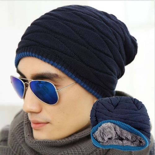 c7ffeba4526 Men Women Crochet Knit Plicate Baggy Beanie Wool Hat Skull Winter Warm Chic  Cap  11.50 free shipping You save 23% off the regular price of  15.00