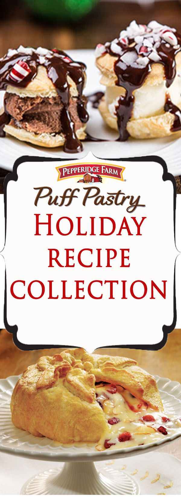 Pepperidge Farm Puff Pastry Holiday Recipe Collection. Festive, impressive recipes that make any holiday gathering or party even more special. Find all the inspiration you need with this list full of appetizers, sides and desserts. Featuring seasonal ingredients and classic dishes that will warm your kitchen and your heart.