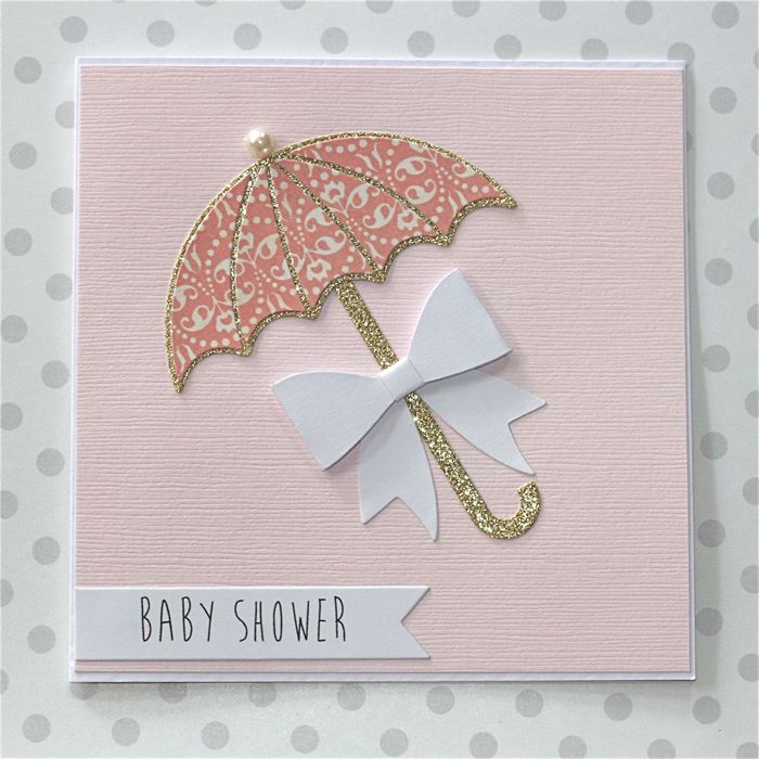 bridal shower cards baby shower cards baby cards umbrella cards pink
