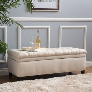 Shop for Christopher Knight Home Hastings Tufted Fabric Storage Ottoman Bench. Get free shipping at Overstock.com - Your Online Furniture Outlet Store! Get 5% in rewards with Club O!