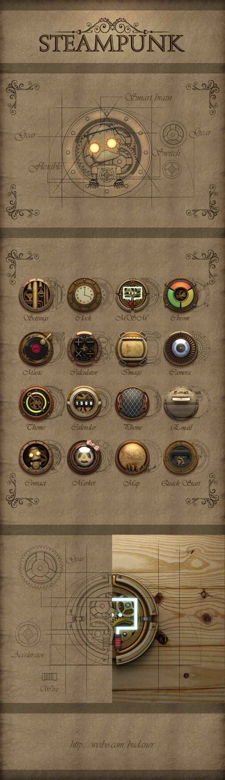 航海風格 精細Icon設計   MyDesy 淘靈感
