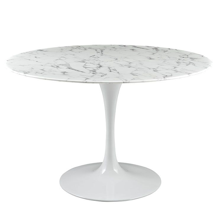 ideas about marble dining tables on pinterest dining tables solid wood and dining rooms: round white marble dining table