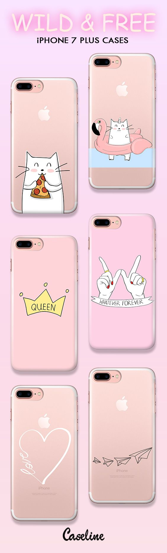 #etui #case #cover #apple #iphone7plus #allpink #sweet #pink #cats #qeen #heart #foreverwhatever #pizza #wildandfree #bestcases #thebestcases #caseline #lineofcases #wzory