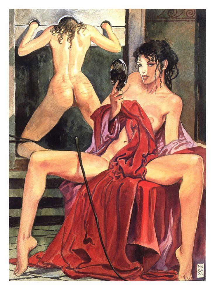 Aphrodite-Milo Manara 10