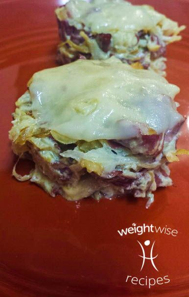 When you pass a deli in Oklahoma City do you crave a Reuben? WeightWise has a Reuben in a ramekin that is quick and a perfect portion recipe!