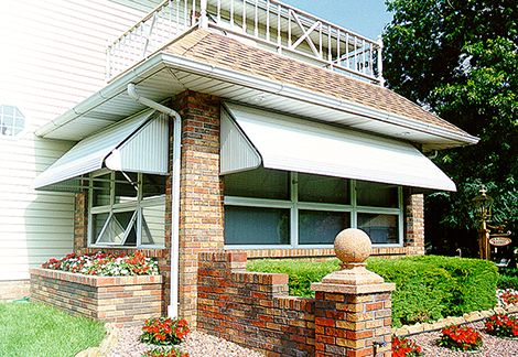 Do it yourself aluminum window awning permanent protection from do it yourself aluminum window awning permanent protection from the elements with stationary aluminum window awnings for the do it yourself home solutioingenieria Image collections