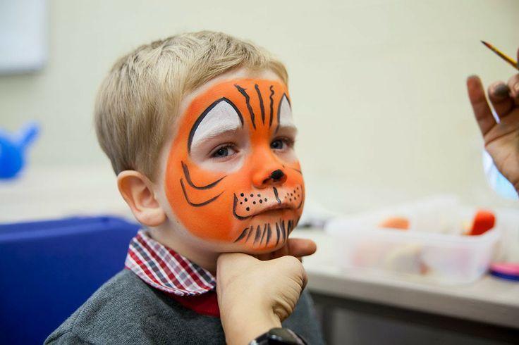 Little #Tiger #Facepainting