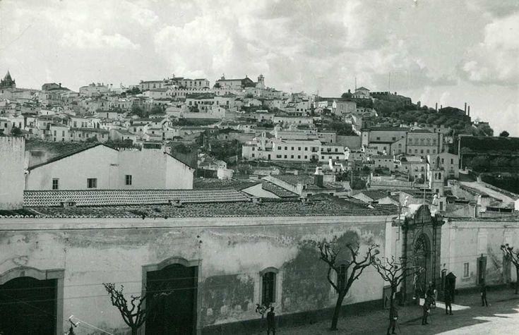 Elvas: Panorâmica da cidade a partir o ex-RI8 | Portal Elvasnews