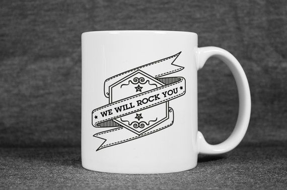 Cool Coffee Mug  Motto Unique Coffee Mug  Statement by detcraft - #etsy #etsyfind #sweet #mug  #fashion #shopping #coffee #thebeatles #funny #holiday #weekend #allyouneedislove  #fun #fashion  #cool  #cute  #coffeelover #birthday #gifts #eheheh #winter  #snow  #lyric #valentinesdaygift  #happynewyear #valentinesday #lover  #giftideas #Queen #Lyrics  #Quote