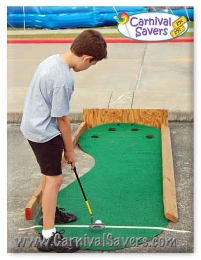 KIDS CARNIVAL: Hole in One -- Carnival Game Idea!