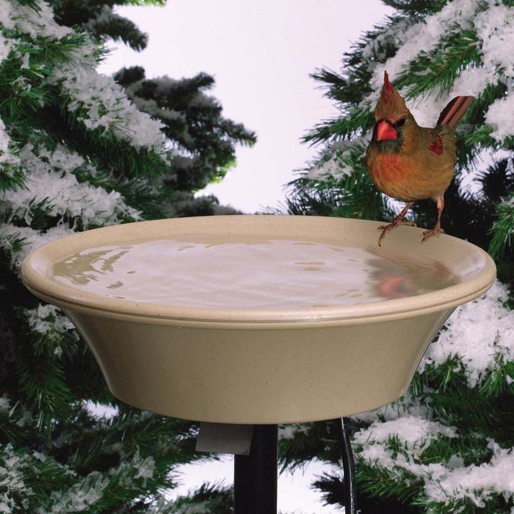 Solar Bird Bath Heater Homemade