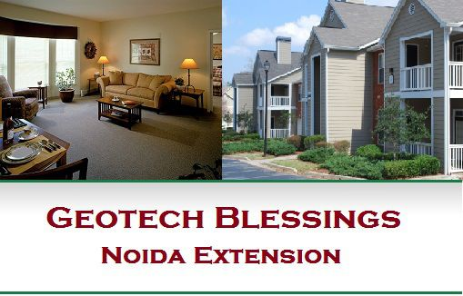 Exclusively Marketed By Reality Infra, Geotech Blessings Noida Extension 2BHK @ 30 Lakhs Book In Just 50000 Rest on possession.