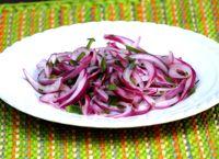 Salsa Criolla - Peruvian Onion, Pepper & Lime Salsa