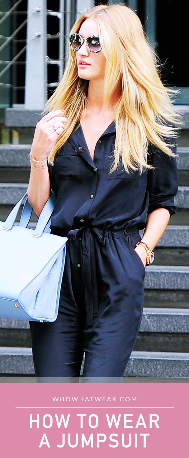 Who doesn't love a good jumpsuit? Read through for simple ways to rock your jumpsuit from day to night