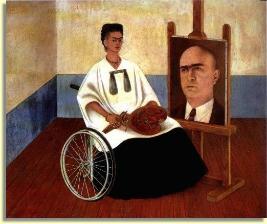 auto retrato con dr juan farill by frida kahlo femmes croquantes ou peignantes mais pas. Black Bedroom Furniture Sets. Home Design Ideas
