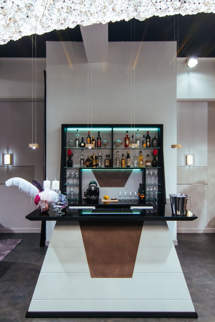 Vismara Design Completes Your Private Game Room With An Exclusive Bar Unit Equipped Wine